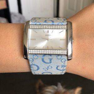 Guess watch just needs a battery